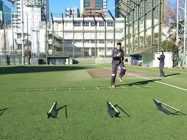 2014SPARQ Quickness/Agilityトレーニング 栗山選手