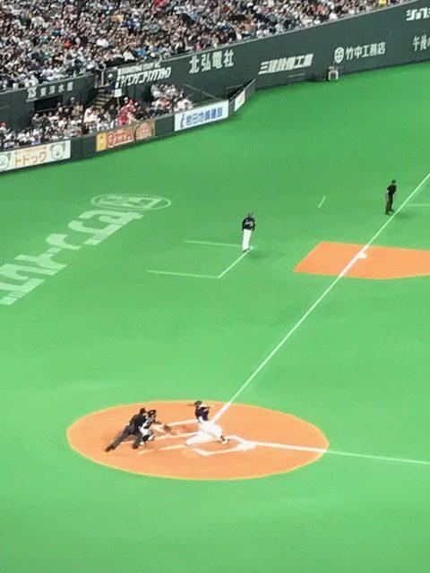 開幕戦@札幌ドーム