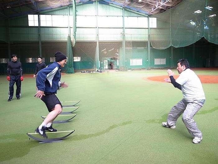SPARQトレーニング  栗山選手