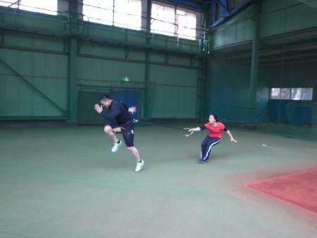 2013SPARQトレーニング 栗山選手