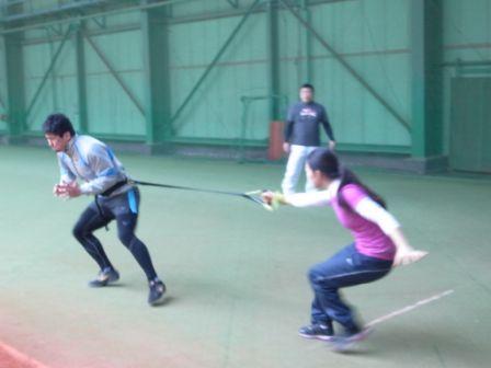 2013SPARQトレーニング 西原選手