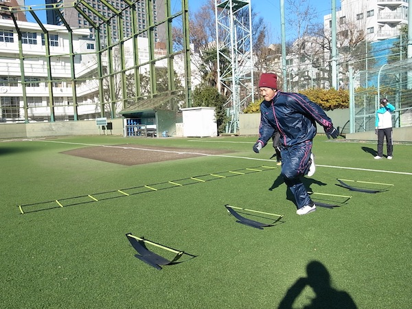 2014SPARQ Quickness/Agility トレーニング 上本選手