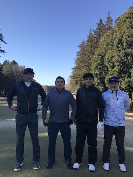恒例打ち上げゴルフ