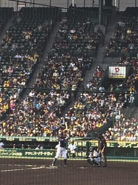 栗山選手@甲子園