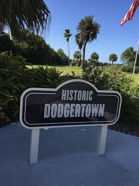 歴史あるドジャータウン