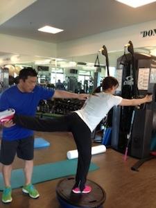 井上プロ トレーニング