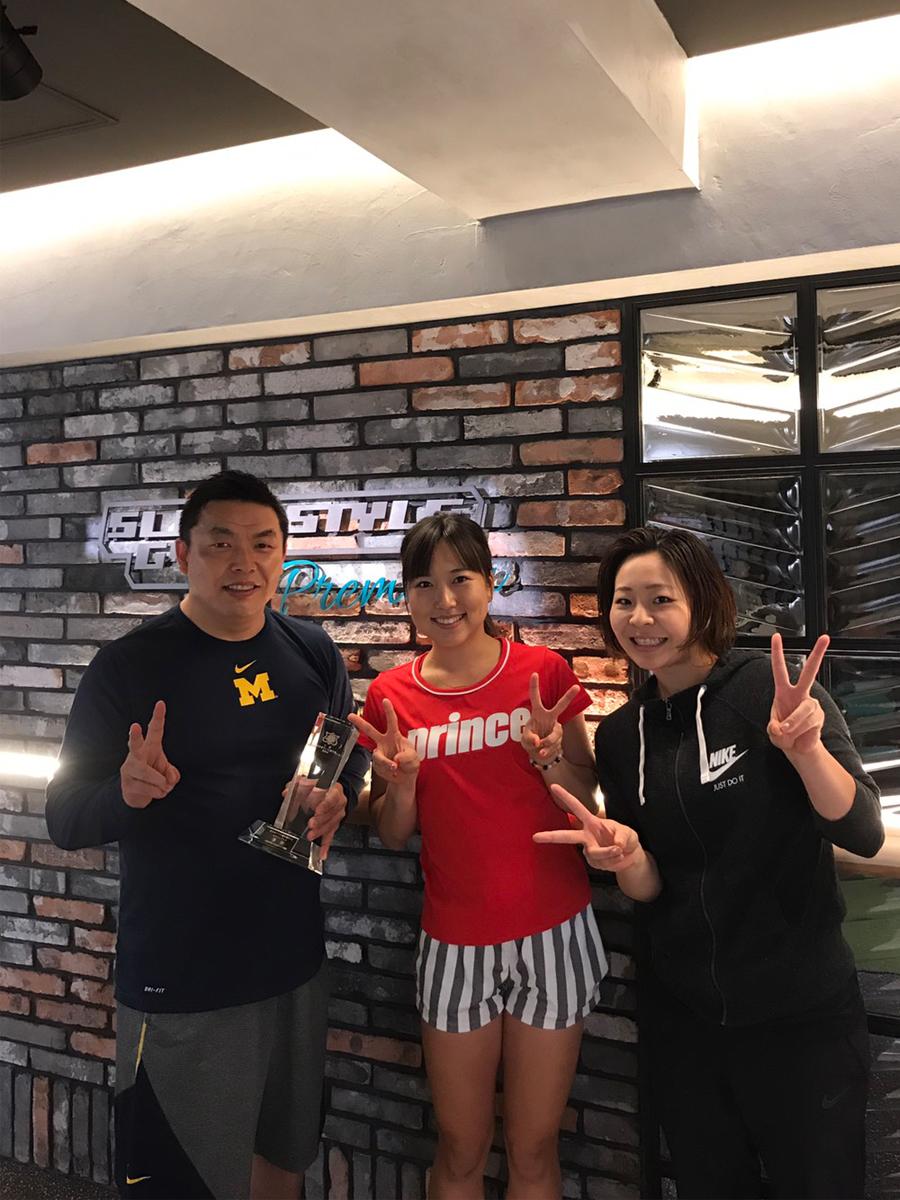 今西美晴選手 全日本選手権優勝
