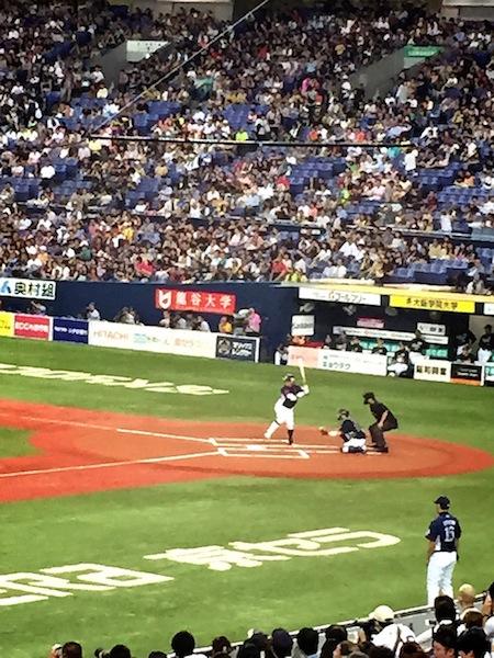 栗山選手@京セラドーム