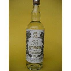 めっちゃ度数のキツイ58度の酒